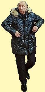 танцору Путину... жмут подмышками